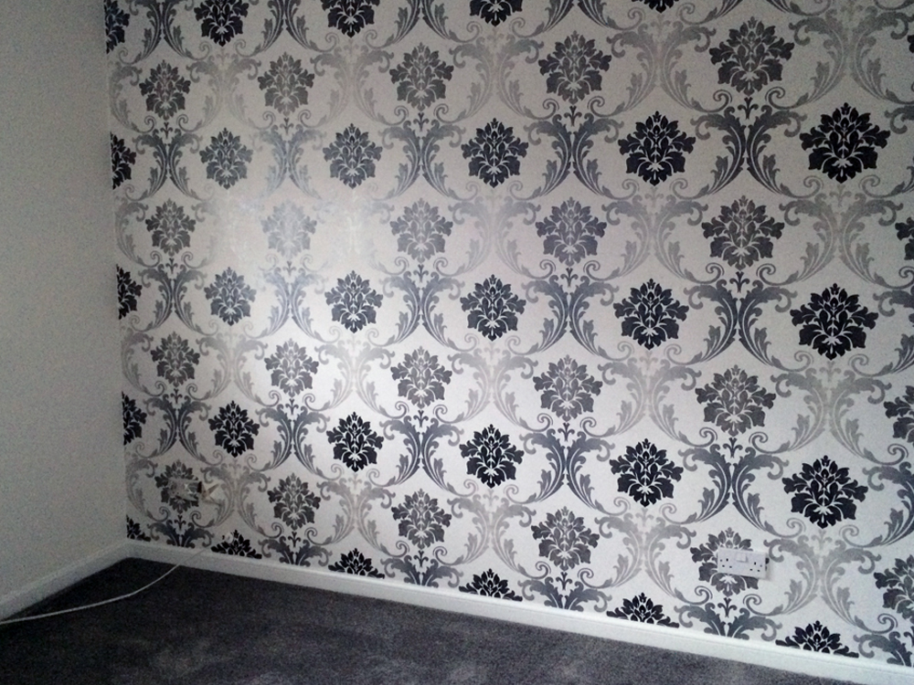 Wall paper finish, Hamilton.